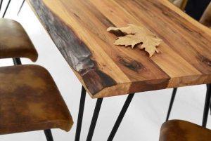 Meşe ağacı masalar