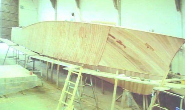 Kontrplak tekne yapımı
