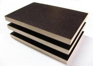 Tır tabanı için tırtıklı plywood