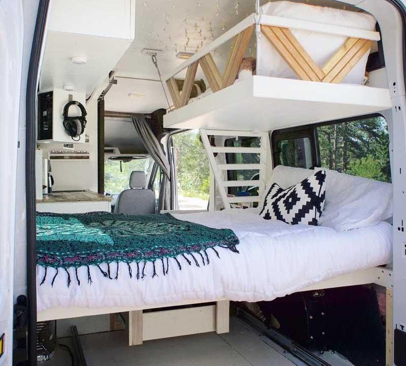 karavan yatak yapimi