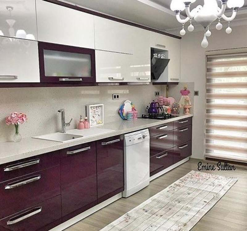 modern mutfak dolabi dekorasyon fikirleri